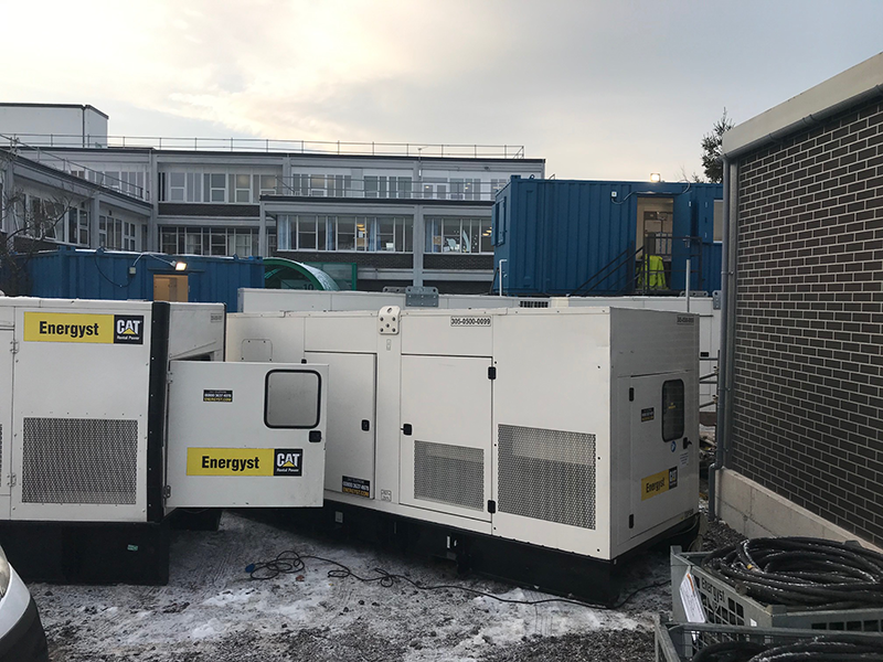 MFT Substations G&H Replacement